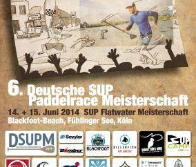 6. Deutsche SUP Flatwater Meisterschaft 2014.